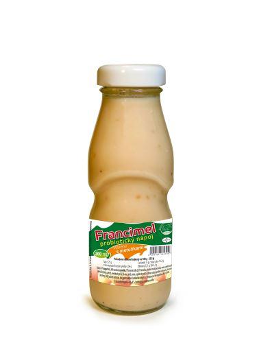 Probiotický jogurtový nápoj Francimel meruňka - 200 ml