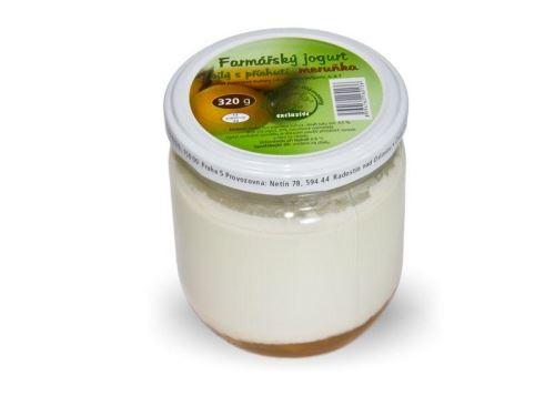 Farmářský jogurt s příchutí meruňka 320g
