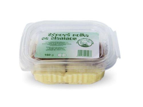 Sýrová rolka se slaninou 160g