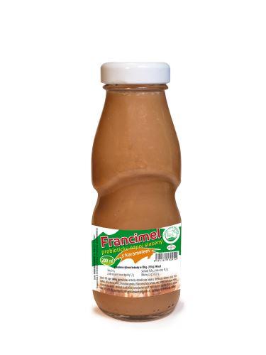 Francimel probiotický jogurtový nápoj s karamelem - 200 ml