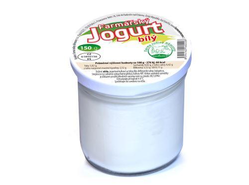 Farmářský jogurt bílý 150g