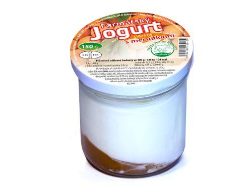 Farmářský jogurt s meruňkami 150g